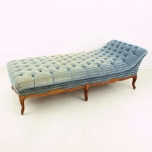 antikes Chaise Lounge / Tagesbett, ca 1950