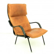 vintage Leder lounge chair