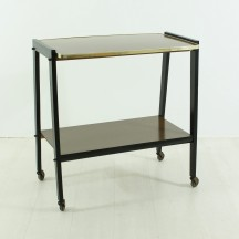 50's vintage serving trolley