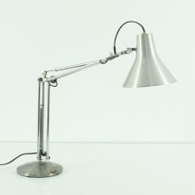 metal desk lamp