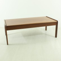 skandinavian teak couch table, ca 1960