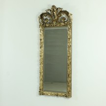 antique wall mirror, ca 1890