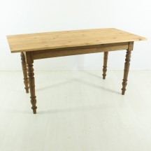 antique dining table, ca 1890