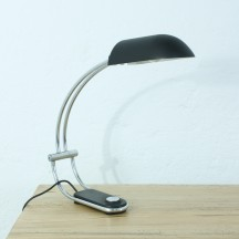70's Egon Hillebrand desk lamp, matt paint