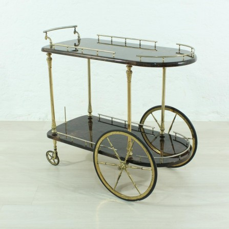 60's vintage serving trolley