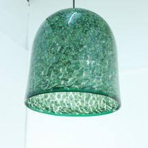 big italian hanging lamp by Gae Aulenti for Vistosi, 1970's
