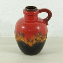 West Germany floor vase