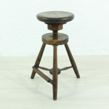 antique working stool, ca 1890