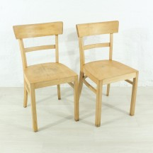 set of 2 60's francfort chairs
