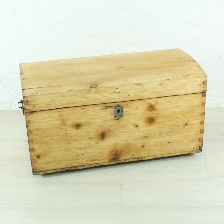 small antique wooden box, ca 1900