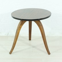 small 60's round side table