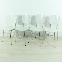 set of 4 50's kitchen chairs