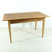 anique massive cherry dining table / desk