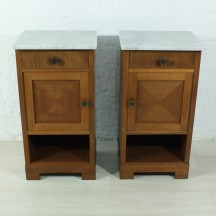 set of 2 night stands, ca 1930