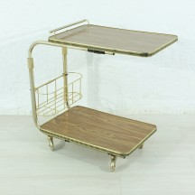 70's serving trolley