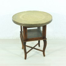 20s brass sidetable