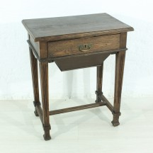 antique 20s art nouveau sewing table
