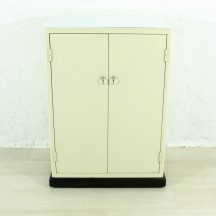 60's metal cabinet/commode