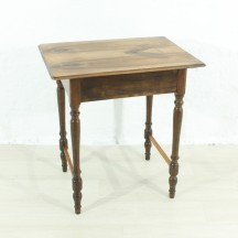 antique walnut desk, ca 1900