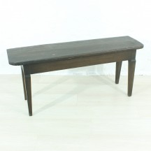 wooden bench, 19th century
