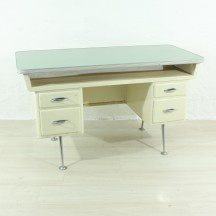50s mid-century metal desk