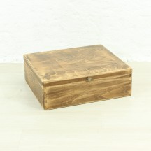 flat antique box