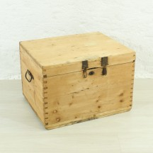 antique trunk, ca 1920