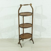 antique three-level shelf