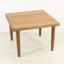 60s teak couch table