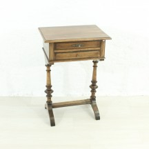 antique sewing table, ca 1900