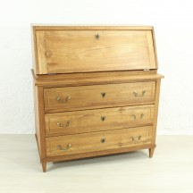 antique cherry bureau, ca 1840
