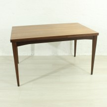 60s extendible teak dining table