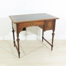 antique walnut desk, ca 1880