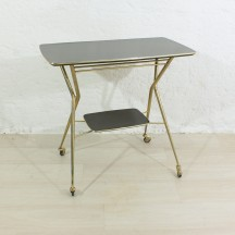 50s serving trolley