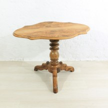 antique small side / dining table