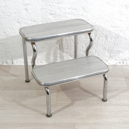 1950s mid-century stepladder for Maquet